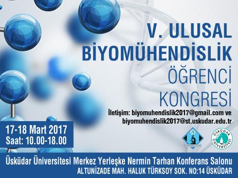 5. Ulusal Biyomühendislik Öğrenci Kongresi
