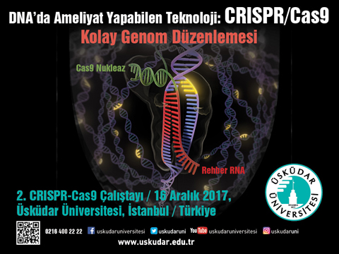 CRISPR CAS9 GEN DÜZENLEMESİ ÇALIŞTAYI